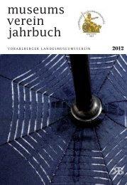 Jahrbuch des Vorarlberger Landesmuseumsvereins 2012