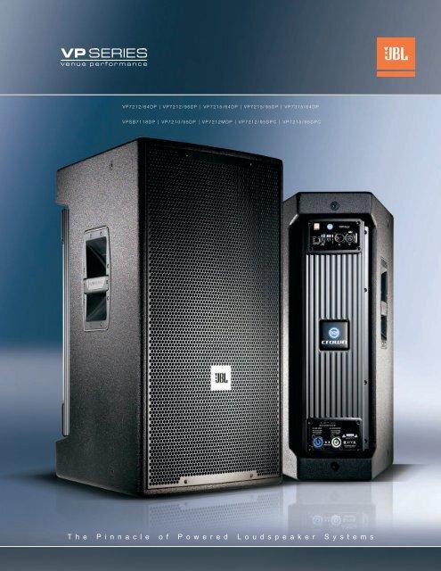 VP Series Brochure - JBL Professional