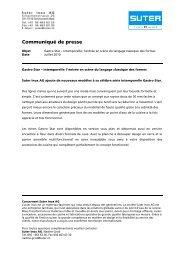 Pressemitteilung_Gastro Star_f - Suter Inox AG