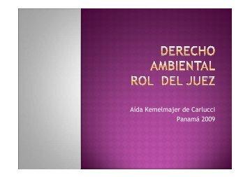 Jornada de Derecho Ambiental y Justicia 2009