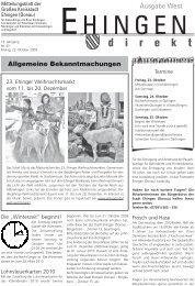 Sportfreunde Kirchen 1953 ev - Stadt Ehingen
