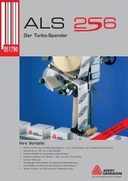 Broschüre ALS 256 Deutsch - Labeltech AG