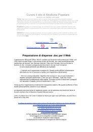 Download .pdf 1 MB - Enciclopedia di medicina popolare