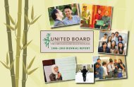 2008–2009 BIENNIAL REPORT - United Board for Christian Higher ...