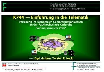 Einleitung und Begriffe - Torsten E. Neck