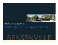 village of bensenville transit improvement plan ... - The Lakota Group