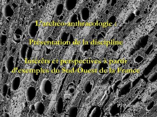 I) L'anthracologie - UMR 5059