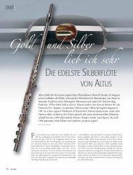 Gold und Silber lieb ich sehr - Altus Flutes