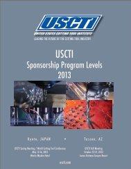 Meeting Sponsorship Program details - USCTI