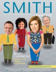 Download PDF - Smith Connector - Robert H. Smith School of ...