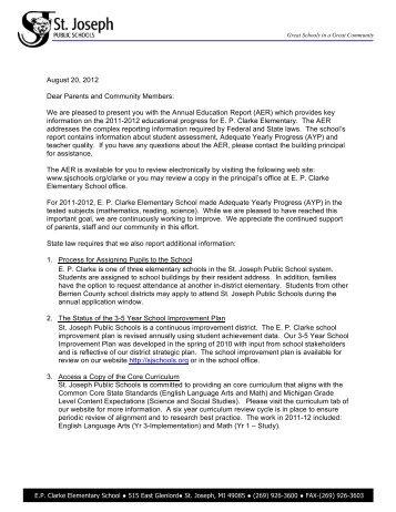 to download (pdf) - St. Joseph Public Schools