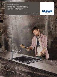 BLANCO mosogatótálca és csaptelep katalógus