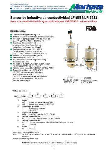 LFiX583-00- Prospekt - Martens Elektronik GmbH