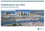 Hovedstrukturen kort. Kommuneplan 2009. Pixi - Aalborg Kommune