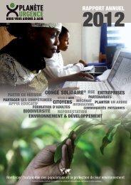 Rapport Annuel - Exercice 2012 (pdf - 46 Mo) - Planète Urgence