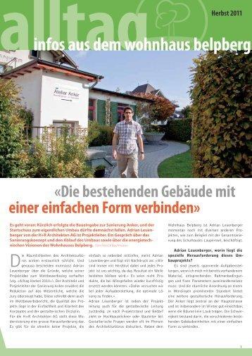 Alltag Herbst 2011 - Wohnhaus Belpberg