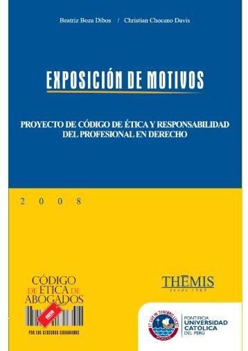Prólogo - Pontificia Universidad Católica del Perú