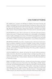 Om forfatterne - Aarhus Universitetsforlag