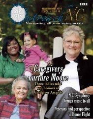 Caregivers nurture Moore - OutreachNC Magazine