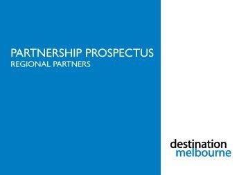 PARTNERSHIP PROSPECTUS - Destination Melbourne