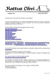 Ausgabe 126 - Rattus Libri - Taysal