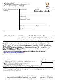 13, Det Informationsvidenskabelige Akademi, IVA