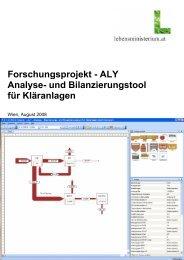 und Bilanzierungstool für Kläranlagen - Kommunalkredit Public ...