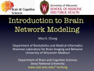 ε - Waisman Laboratory for Brain Imaging and Behavior - University ...