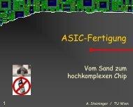 Asic-Fertigung