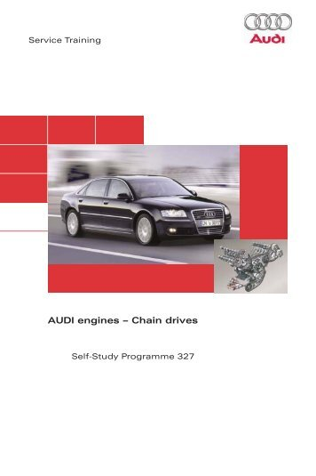 SSP327 AUDI engines – Chain drives - Volkspage