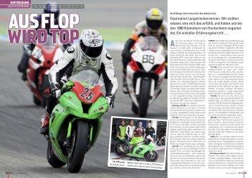 "Bericht im Magazin ""TÖFF"" - Büchler Motocenter Uster"