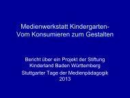 Download der Präsentation - Stuttgarter Tage