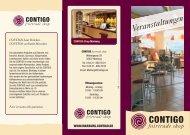 Veranstaltungskalender CONTIGO Marburg Juli ... - Contigo Fair Trade
