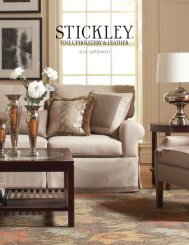 FINE UPHOLSTERY & LEATHER - Stickley