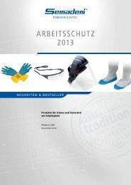Arbeitsschutz-Prospekt - Semadeni AG