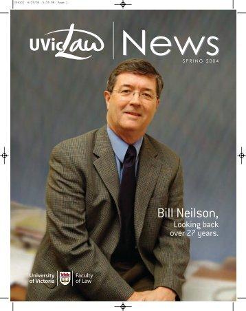 Bill Neilson, - University of Victoria