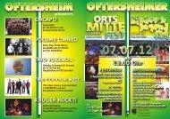 Flyer Ortsmittefest 2012-19-06-2012 - Gemeinde Oftersheim