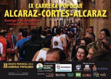 diptico Carrera Alcaraz