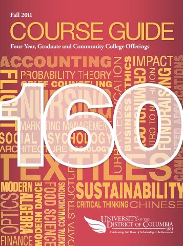 Fall 2011 Four-Year, Graduate and Community College Offerings