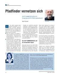 Pfadfinder vernetzen sich - Schaffler Verlag