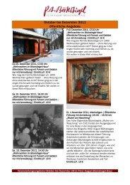 Oktober bis Dezember 2011 öffentliche Angebote - Stadt Werther