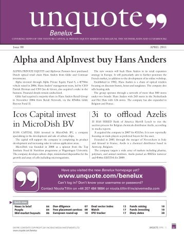 latest digital edition on Benelux unquote