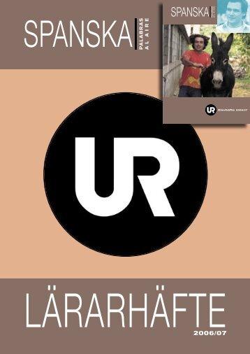 SPANSKA LÄRAR.indd - Ur