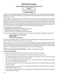 MVR-420 Web 07 11 12 final.indd - Virginia Department of Taxation