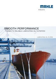 SMOOTH PERFORMANCE - MAHLE Industry - Filtration