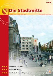 Ausgabe 5/2006 - Bürgerverein Stadtmitte e.V.