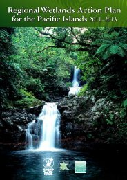 Regional Wetlands Action Plan for the Pacific Islands: 2011
