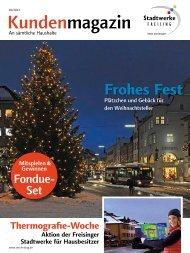 Kundenmagazin 2 / 2013 - Freisinger Stadtwerke
