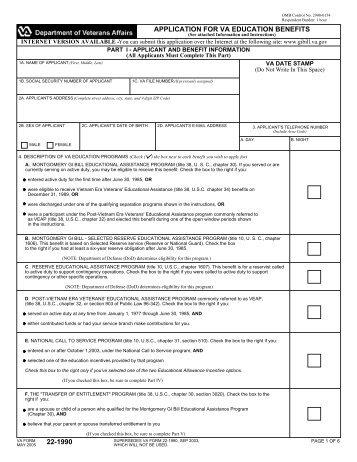 VA Form 22-0810 - Utep