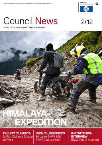 Council News 2_12.indd - BMW Clubs